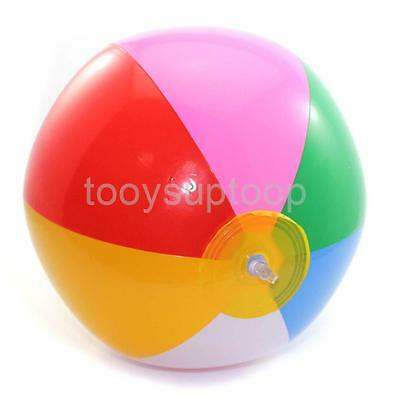 Traditional Beach Ball 35Cm Inflatable Pool Swimming Kids Toys Child Water