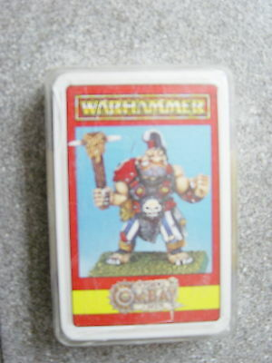 "Warhammer/Citadel Fantasy Playing Cards/Game -noch ovp.""Warhammer"""