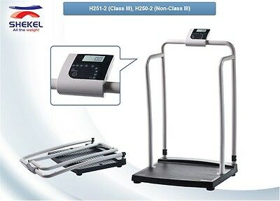 Medical Physician Weighing Scale Class III Approved Handrail Scale
