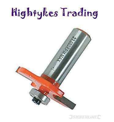 """1/2"""" Shank Biscuit Cutter Router Bit  No.10 & 20 TCT Biscuit Joiner Set 633598"""