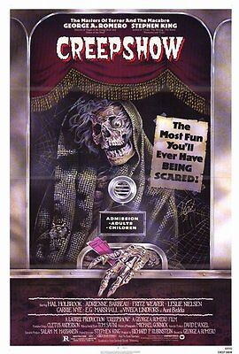 "CREEPSHOW Movie Poster [Licensed-NEW-USA] 27x40"" Theater Size King/Romero"