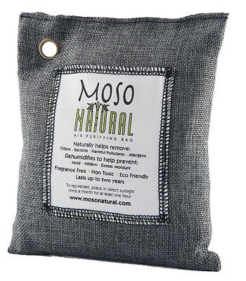 Moso Natural Air Purifying Bags 200g (use in areas up to 90 sq. ft.) one (1) bag
