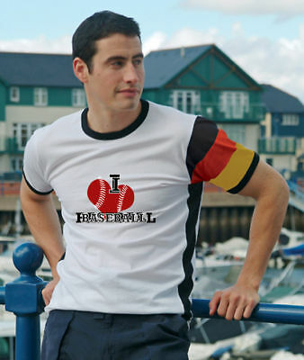 Baseball Deutschland T-Shirt Trikot im DE-Design / No.7