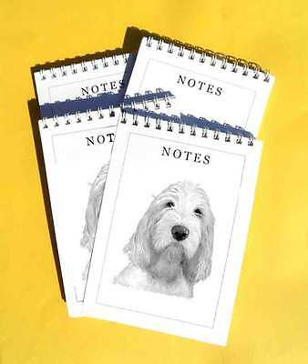 Italian Spinone Pack of 4, A6 Dog Note Pads Gift Set