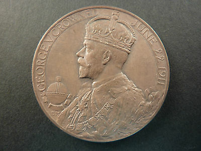 George V And Queen Mary Coronation Medallion
