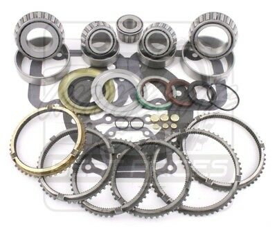 Ford ZF Trans S5-47 S547 Truck 5sp Transmission Rebuild Kit 95-98 w/ Synchros
