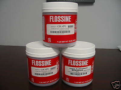 Flossine Gold Medal (3)  1 LB Containers MIX & Match