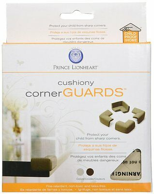 Prince Lionheart - Cushiony Corner Guards - 4 pc. Foam Protectors - Baby Safety