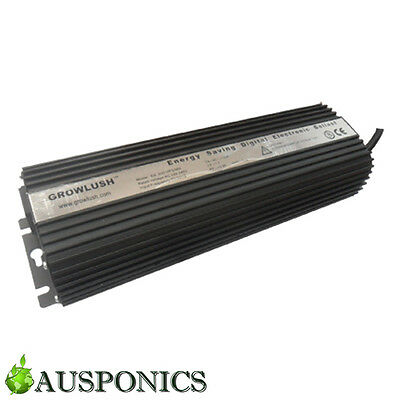 Growlush 600W Hps/mh Dimmable Digital Electronic Ballast Hydroponics Lighting