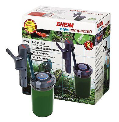 EHEIM  Aquacompact 60 External canister filter for small aquariums