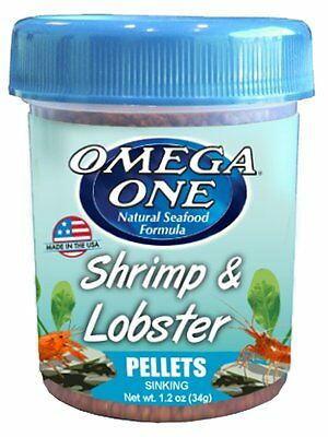 Omega One *Shrimp & Lobster Pellets  34 g