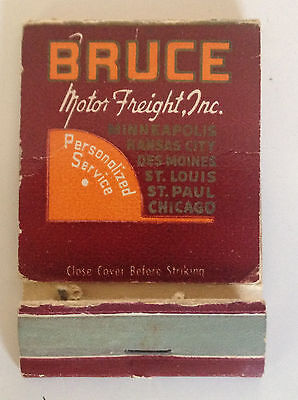 match cover BRUCE MOTOR FREIGHT INC 2-1/4 X 1-1/2
