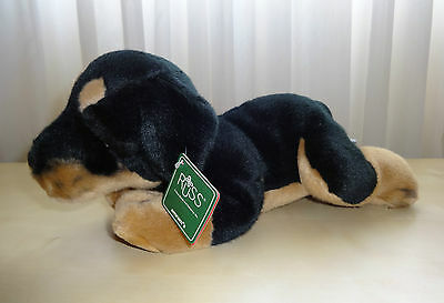 New RUSS Rottweiler Puppy Dog Soft Plush Toy Stuffed Animal #4387
