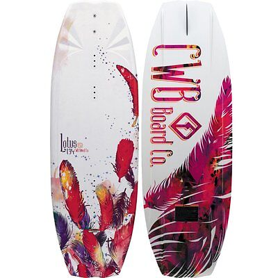NEW $450 LIMITED EDITION CWB Lotus 134cm Womens Wakeboard water skiing ladies