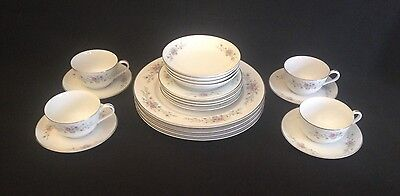 "5 pc. Place Setting for 4 (20 pieces). Florenteen Fine China ""Fantasia"" (Japan)"