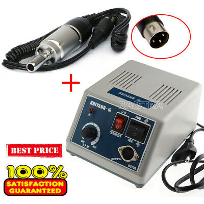 Dental Lab Marathon MicroMotor NewN3 Polishing Machine + 35K RPM Handpiece EType