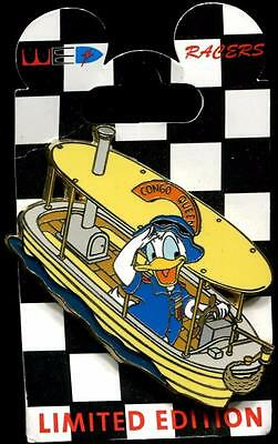 WDI WED Racers Donald Duck LE 300 Disney Pin 64333