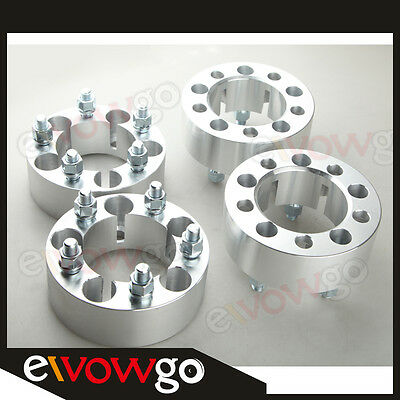 4PCS Jeep 50mm Wheel Spacers Adapters 5x114.3 Wrangler TJ YJ XJ KJ KK ZJ MJ
