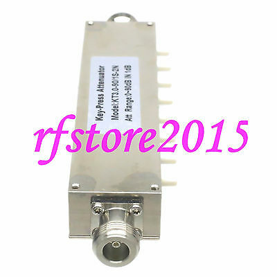 Attenuator Adjustable ADJ Variable N 10W DC-2.5GHz 0~90dB 1dB Step 8-Key-Press