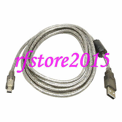 MR-J3USBCBL3M PLC Cable for Mitsubishi MR-J3 Computer USB download cable Grey