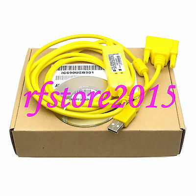 IC690USB901 PLC Cable for USB/SNP interface GE 90 series PLC win8 vista