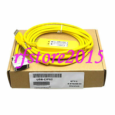USB-CIF02 PLC Cable for Omron PLC CPM1A/CPM2A/C200H/CQM1 VISTA WIN7
