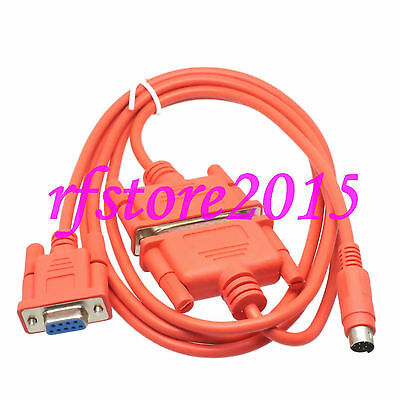 SC-09 PLC Cable for Mitsubishi PLC MELSEC FX&A Series Red