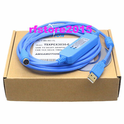 TSXPCX3030-C PLC Cable for Schneider Modicon TSX PLC USB 2.0 win7 vista