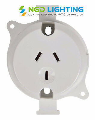 10x Surface Sockets Outlet Plug Base Wholesale Price 10amp 240Volts