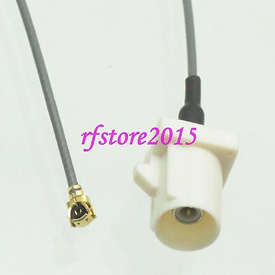 Cable 1.13mm 8inch Fakra SMB B 9001 male to IPX U.fl female RF Pigtail Jumper