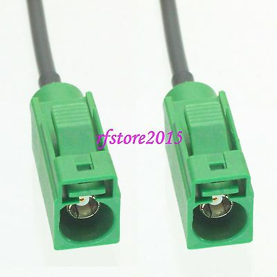 Cable RG174 6inch Fakra SMB E 6002 female to E female jack RF Pigtail Jumper