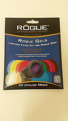 Rogue Gels - Lighting Filter Kit for Rogue Grid
