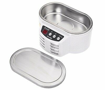 Ultrasonic Cleaner Tool Jewelry Glasses Circuit Board CD Lens Watch LED Display