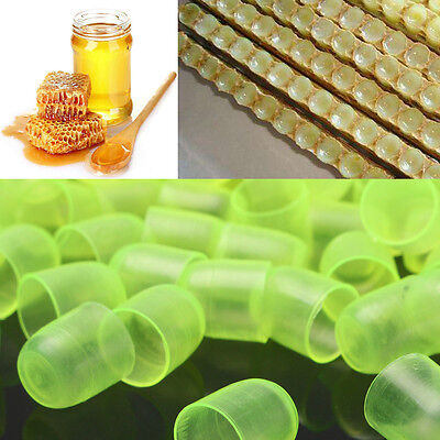 1000Pcs Plastic Beekeeping Queen Cell Cups Royal Jelly Cups Queen Rearing Equip