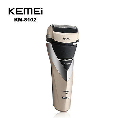 Kemei Rechargeable Shaver Reciprocating Blade Razor Beard Trimmer