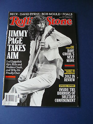 Rolling Stone Magazine - Jimmy Page  Issue: 735 Feb. 2013