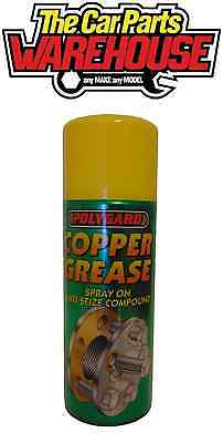 400ml Spray on Aerosol Copper Grease Cheapest on Here lubricant High temperature