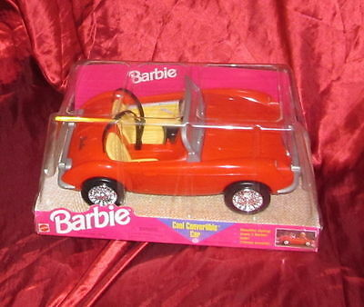 Barbie Cool Convertible Car Automobile Spider 1998 MISB nuova macchina
