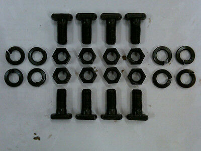 "(8) 9"" Inch Ford Axle Housing End T-Bolts - 1/2 - NEW"