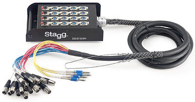 STAGEBOX 16 XLR F/4 JACK M-5 Meter