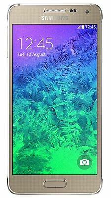 "Samsung Galaxy Alpha SM-G850M Gold (FACTORY UNLOCKED) 4.7"", 32GB, 12MP"