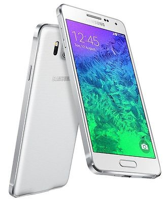 "Samsung Galaxy Alpha SM-G850M White (FACTORY UNLOCKED) 4.7"", 32GB, 12MP"