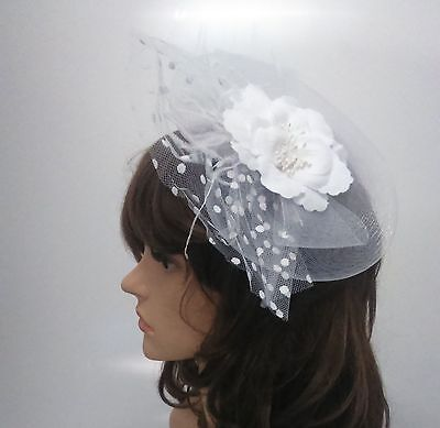 Ladies Girls Large Fascinator Hair Wedding Party