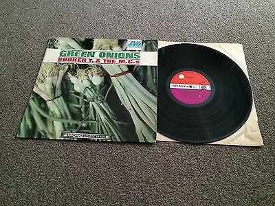Booker T. & The M.g.s - Green Onions - 1966 Atlantic Uk Mono Lp Look In My Shop!