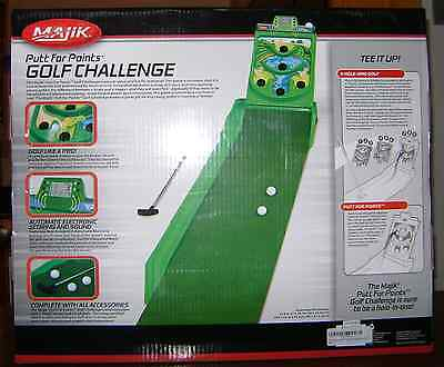 Majik Putt For Points Golf Challenge - Brand New.