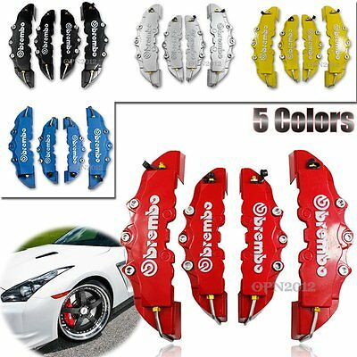 5 Colours Car Disc Brake Style Caliper Cover Look Universal Front Rear Brembo 3D