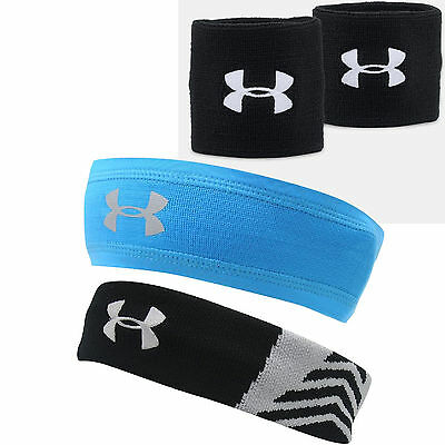 Under Armour Schweißband Headband Wristband Kopfband Band Sport Tennis Squash