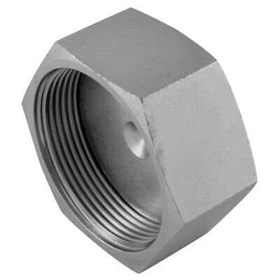 "9129-20, 1.11/16"" ORFS FEMALE STEEL CAP, Burnett & Hillman Hydraulic Adaptors"