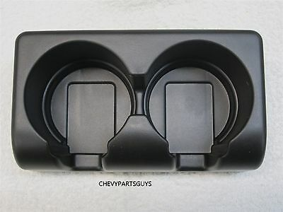 OEM GM Chevrolet Colorado GMC Canyon Rear Seat Dual Cup Holder Insert 19256630