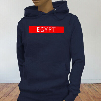 Spooky Egyptian Ancient Cats Egypt Pyramid Mummy  Womens Navy Hoodie